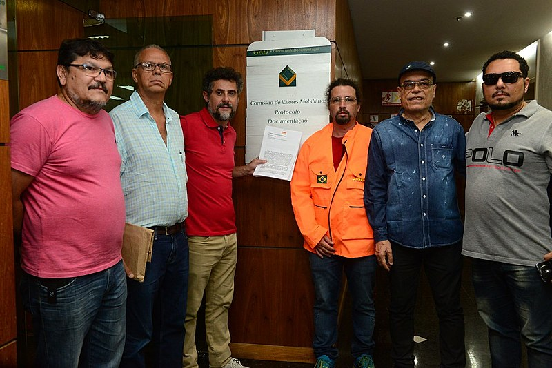 Representantes dos trabalhadores do setor petroleiro foram à FNP, nessa sexta-feira (26), denunciar irregularidades na Petrobras