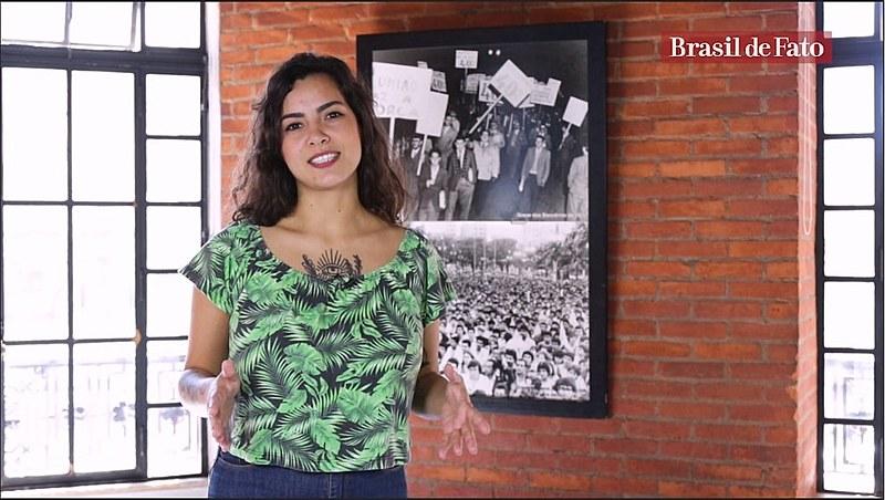 Jornalista Pamela Oliveira apresenta novo programa semanal produzido pelo Brasil de Fato para público de língua inglesa