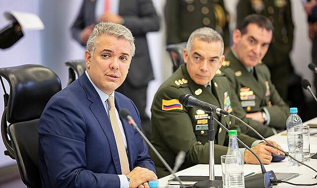 Iván Duque rechaçou seis artigos do estatuto do órgão Justiça Especial para Paz