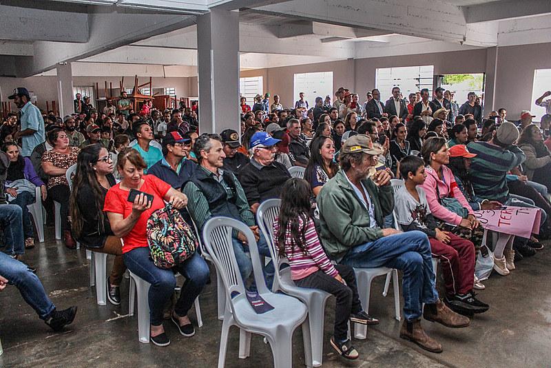 A regularização fundiária das comunidades foi tema de uma audiência pública realizada nesta sexta-feira (17), no município de Clevelândia