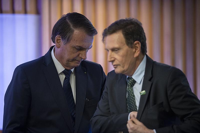 Crivella e Bolsonaro