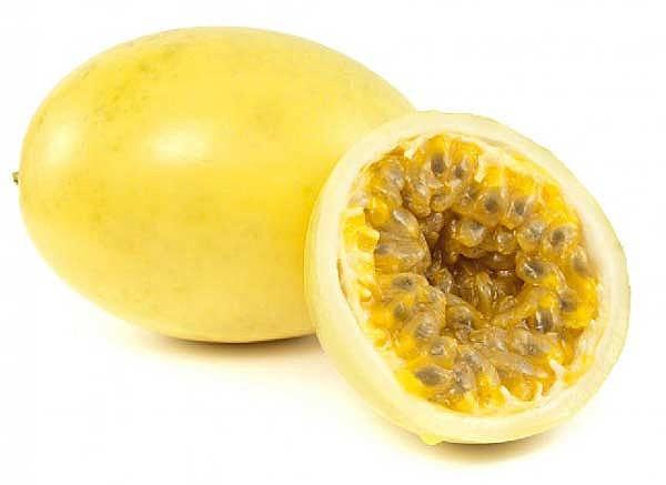 O maracujá-amarelo é o mais cultivado pelo grande tamanho de frutos