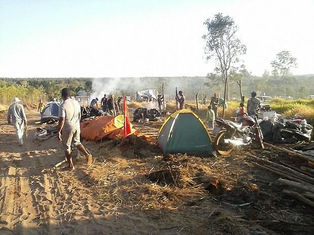 Objetivo de expulsar os agricultores da área é abrir espaço para a expansão do agronegócio no Sul do Mato Grosso