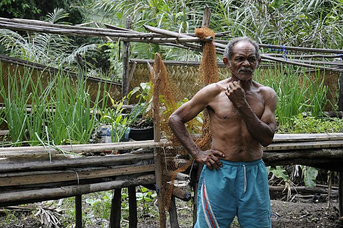 Luis Ferreira é um dos camponeses que tem suas terras ameaçadas na região