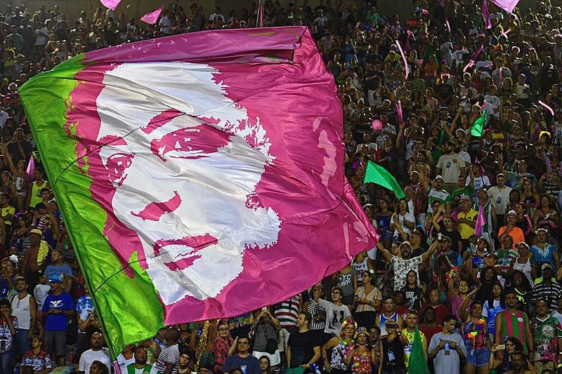 """Este ano, a verde e rosa se apresenta como a """"Estação Primeira de Nazaré"""""""