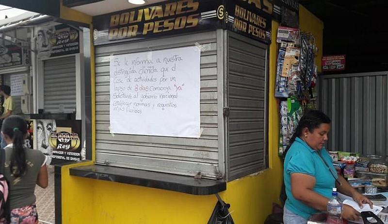 Comércio de cidade fronteiriza perdeu 60% de vendas