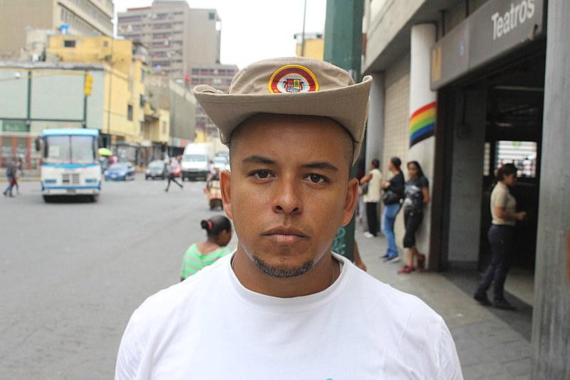 """Ángel Vásquez ingressou na instituição criada por Chávez em 2008: """"Isso está nas nossas veias, desde que nascemos somos revolucionários"""""""