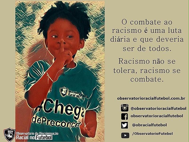 Iniciativa foi criada após agressões sofridas por Tinga, Márcio Chagas e Arouca
