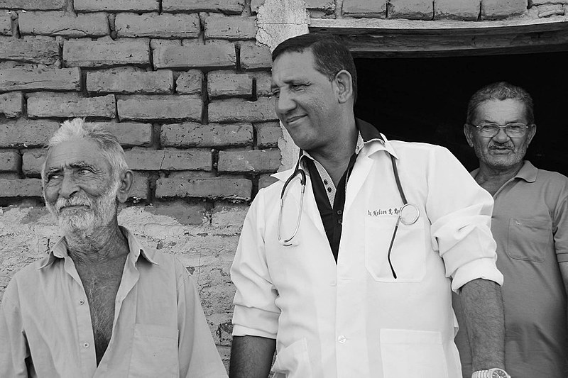 Nelson, médico cubano que trabalhou em Cabrobó (PE)