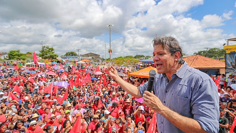 Haddad diz que tem estudado São Paulo para viabilizar uma candidatura progressista no estado.