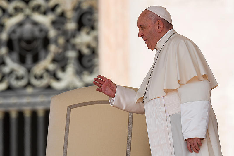 """Papa Francisco disse que o lawfare """"resulta de uma atividade judicial imprópria em combinação com operações midiáticas paralelas"""""""