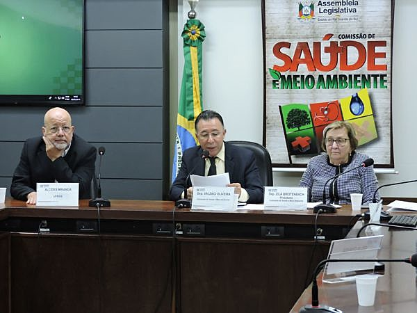 Audiência foi proposta pelo deputado Valdeci Oliveira.