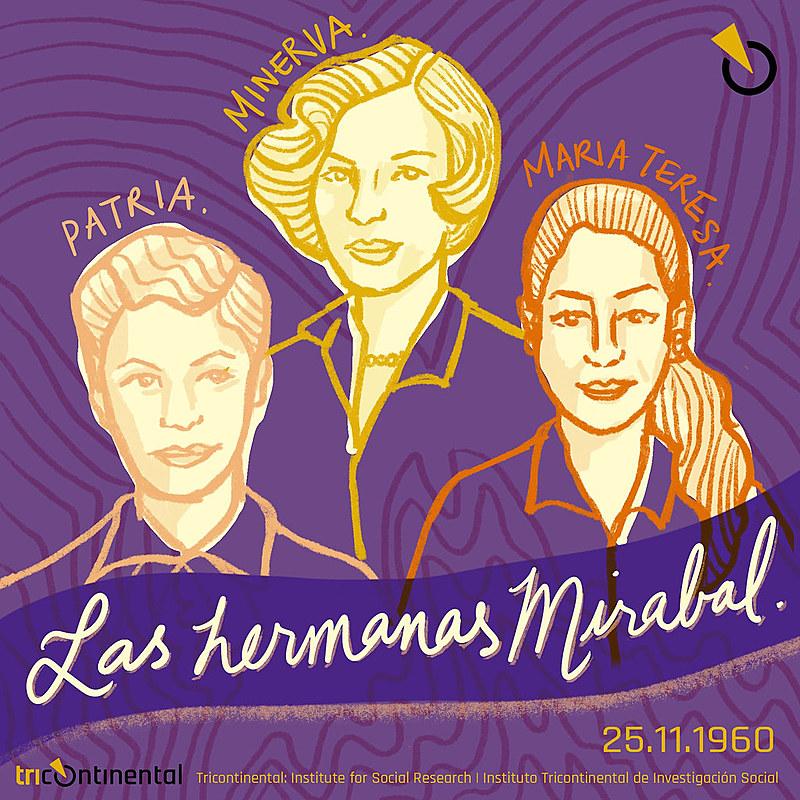As irmãs Mirabal, assassinadas na República Dominicana, se tornaram símbolo da luta contra a violência de gênero