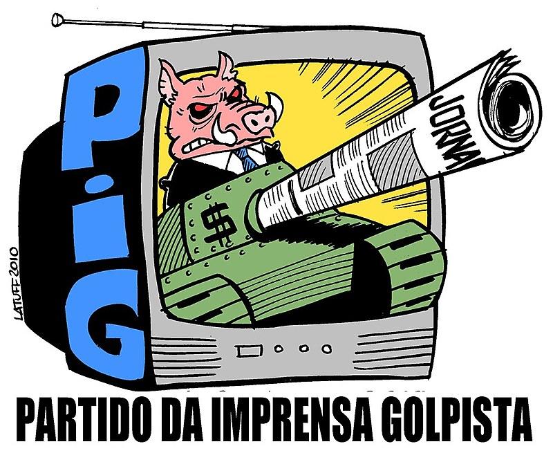 """Globo """"dividiu seus lençóis com uma ditadura assassina durante 21 anos"""""""
