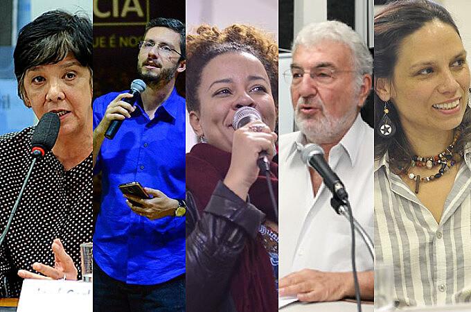 Rita Freire, Camilo Vannuchi, Ana Claudia Mielke, Lalo e Eliane Gonçalves estarão presentes