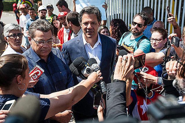 Fernando Haddad (foto), sustituto de Lula en las elecciones de 2018, se confirmó como candidato del PT hace trece días
