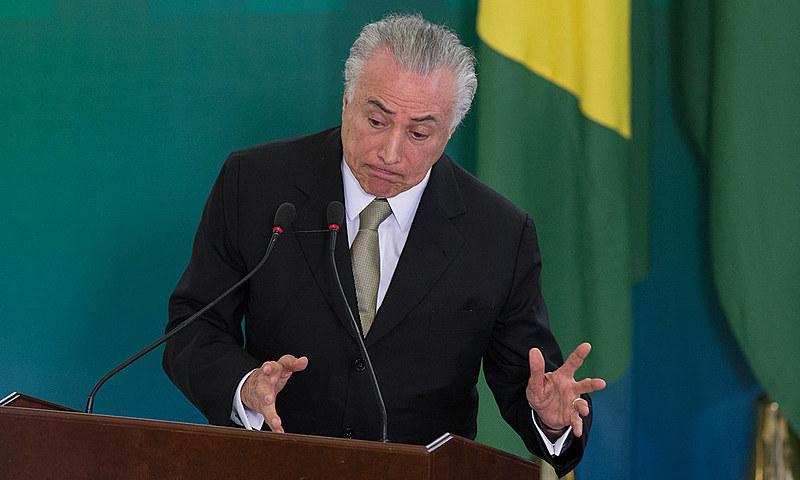 Temer: 'Se o PT tivesse votado em Cunha naquele Comitê de Ética, seria muito provável que a senhora presidente continuasse'