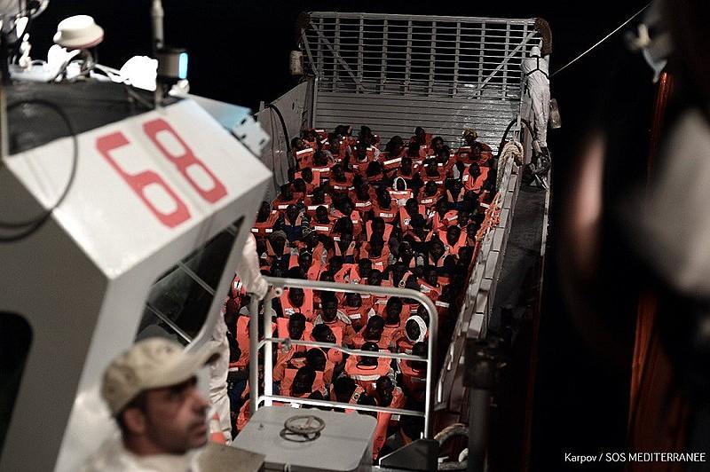 Espanha resolveu aceitar navio Aquarius, rejeitado por Itália e Malta