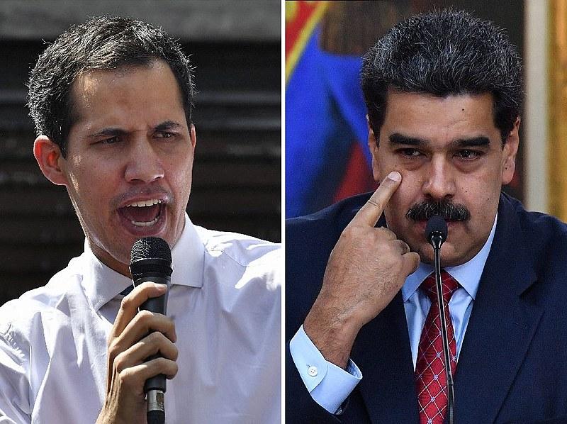 Guaidó e Maduro enviam representes à ilha de Barbados para negociar