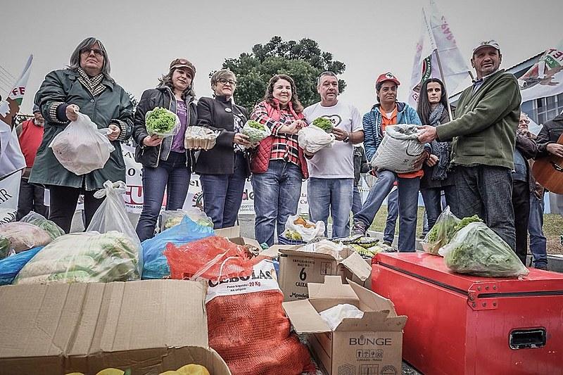 A Caravana da Agricultura Familiar percorreu mais de 1.300 km no Paraná