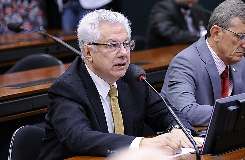 Deputado Arlindo Chinaglia (PT/SP), presidente do Parlamento do Mercosul