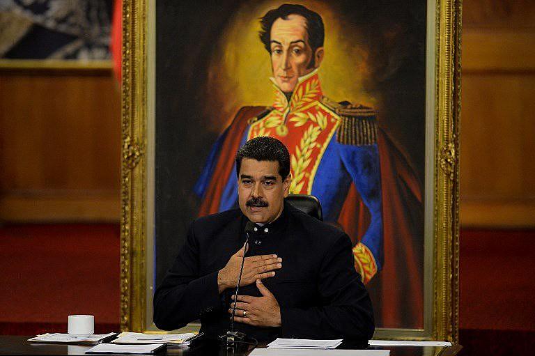 Maduro anunciou que cerca de 400 compradores dos títulos da dívida do país reuniram-se com a equipe econômica do governo
