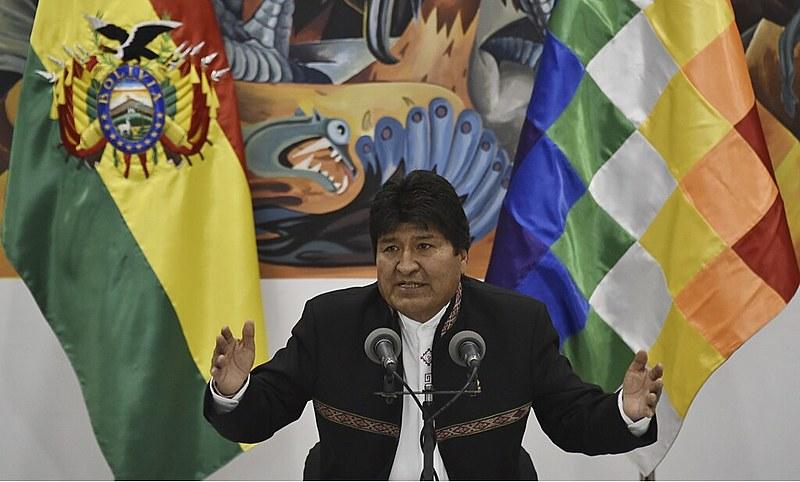 Evo Morales é presidente da Bolívia desde 2006