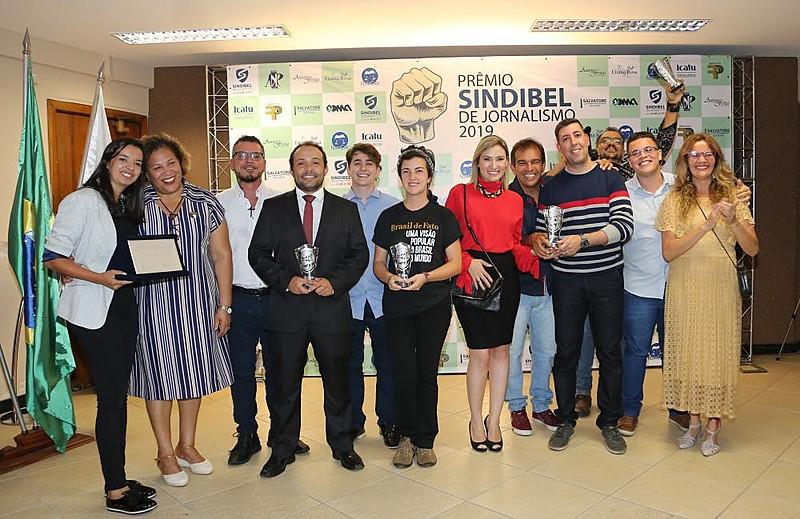 1º Prêmio Sindibel de Jornalismo agraciou reportagens sobre a importância do serviço público