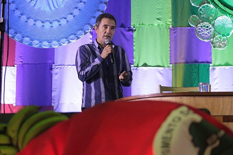 Gelson e outros dois integrantes da Associação dos Grupos de Agricultura Ecológica São Francisco de Assis foram presos sem provas