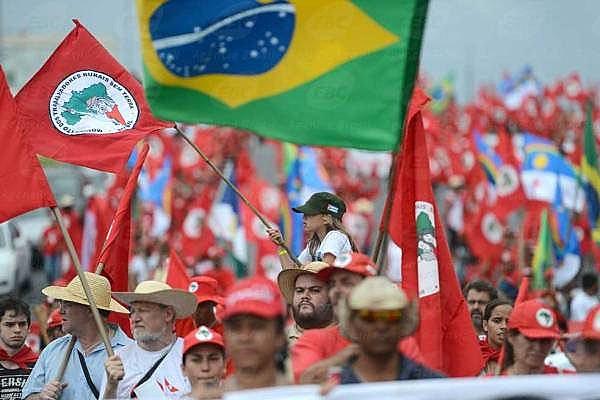 La última gran marcha nacional realizada por el MST fue en 2005