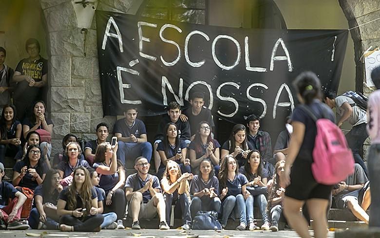 """La """"primavera estudiantil"""" ya cuenta con 1177 escuelas y 134 universidades ocupadas en todo Brasil"""