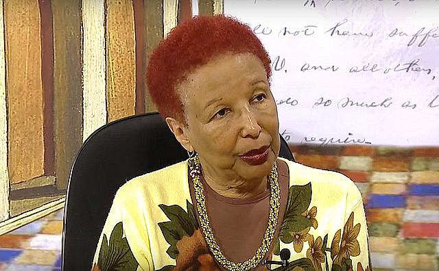 Petronilha Gonçalves y Silva fue relatora de la comisión que elaboró un parecer para la aplicación práctica de la ley