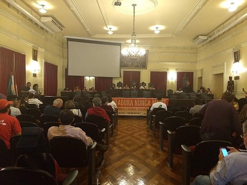 Comissão foi lançada em cerimônia aberta ao público no salão nobre da Faculdade Nacional de Direito da UFRJ