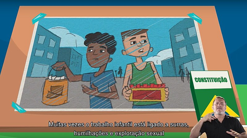 Cerca de 2,7 milhões de crianças e adolescentes entre cinco e 17 anos trabalham atualmente no Brasil