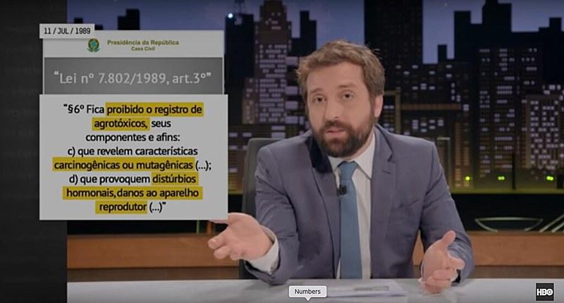 """Greg News"" ironiza agronegócio em sátira humorística protagonizada pelo ator Gregório Duvivier"
