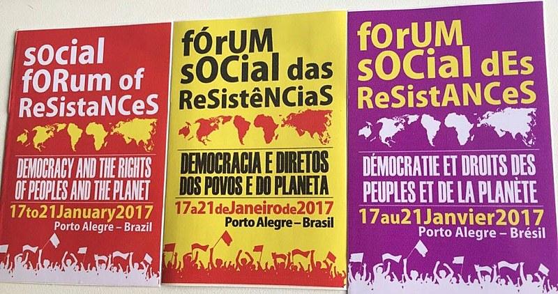 Evento faz parte do calendário preparatório para o Fórum Social Mundial