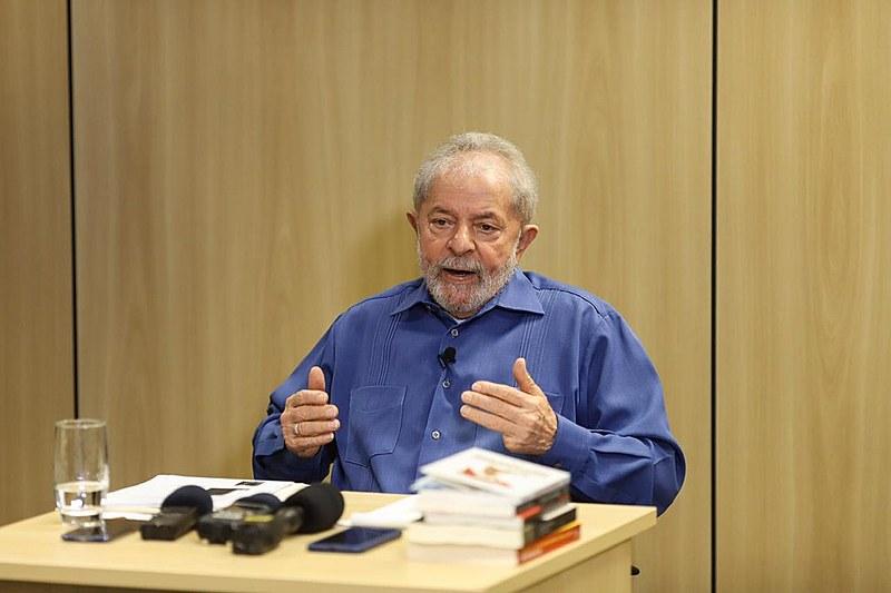 Ex-presidente Lula concede entrevista exclusiva ao Brasil de Fato na quarta-feira (23)