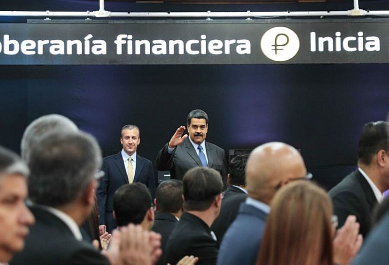 Segundo o presidente Nicolás Maduro já foram comercializados cerca de US$ 735 milhões em moeda virtual
