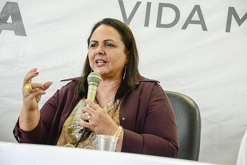 Lídia Moura paraiba secretaria da mulher