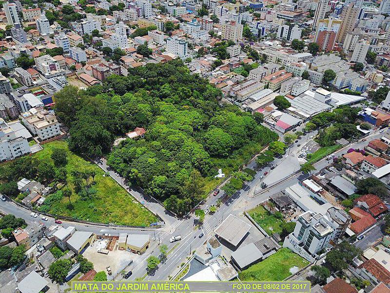 """""""Parque Jardim América"""", na região oeste de BH, tem 20 mil metros quadrados"""