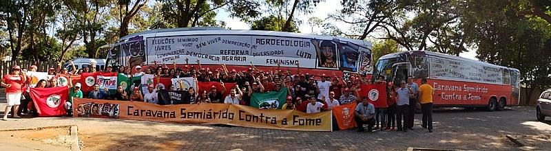 Após passar por Pernambuco e Bahia, Caravana chegou à capital mineira nesta segunda (30)