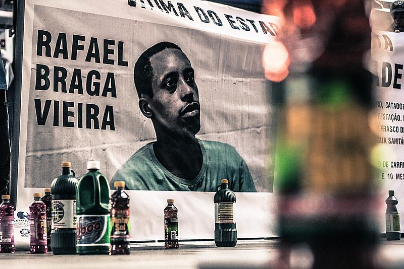 """""""30 dias por Rafael Braga"""" começa hoje com evento na sede do Ação Educativa e debaterá temas sobre encarceramento e racismo"""