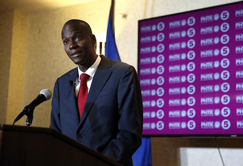 """Moise classificou sua eleição como um voto """"num caminho para uma vida melhor para todos os haitianos"""""""
