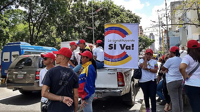 11 milhões de venezuelanos participaram no último domingo da simulação da Assembleia Nacional Constituinte