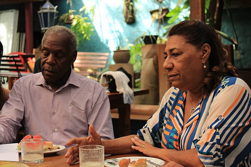 Encontro dos pais da vereadora Marielle Franco, com o ator e embaixador da ONU, Danny Glover