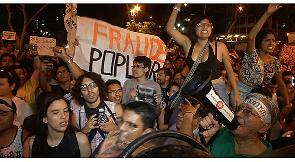 Manifestações contra Keiko Fujimori