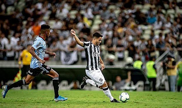 Em alguns jogos, o Ceará demonstrou apatia em campo diante de concorrentes diretos na luta contra o rebaixamento.