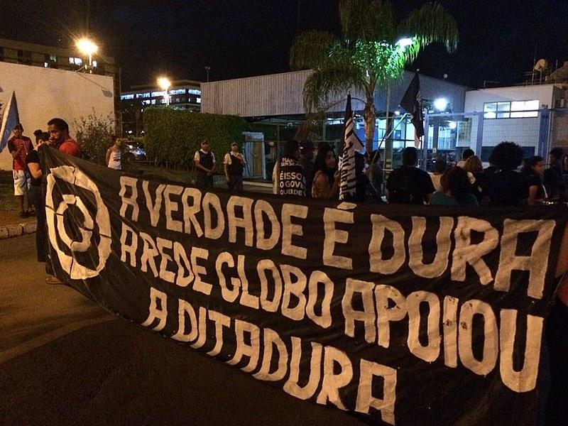 O Globo faz cair por terra a autocrítica feita pelo apoio à ditadura de 64, pois quem defende a da lei da anistia, defende a impunidade