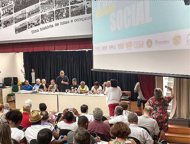 Entidades se reunieron en la 13ª Jornada Nacional de Debates entre las centrales y DIEESE