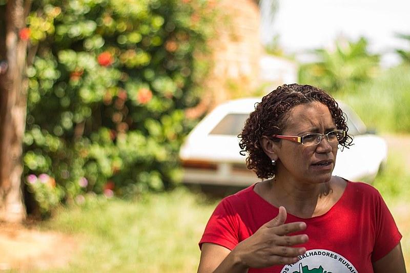 """Dirigente lembra que """"há um processo de bloqueio da reforma agrária"""" no Brasil"""